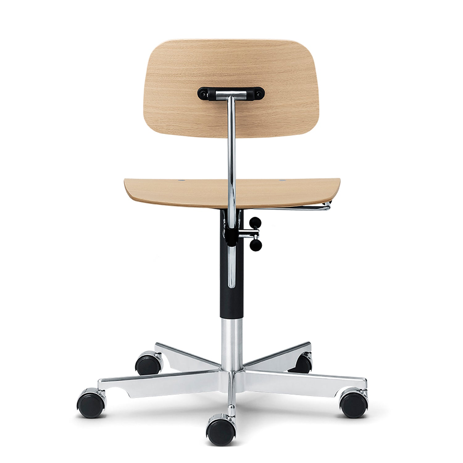 Kevi Chair 2533: Wood + Oak Veneer