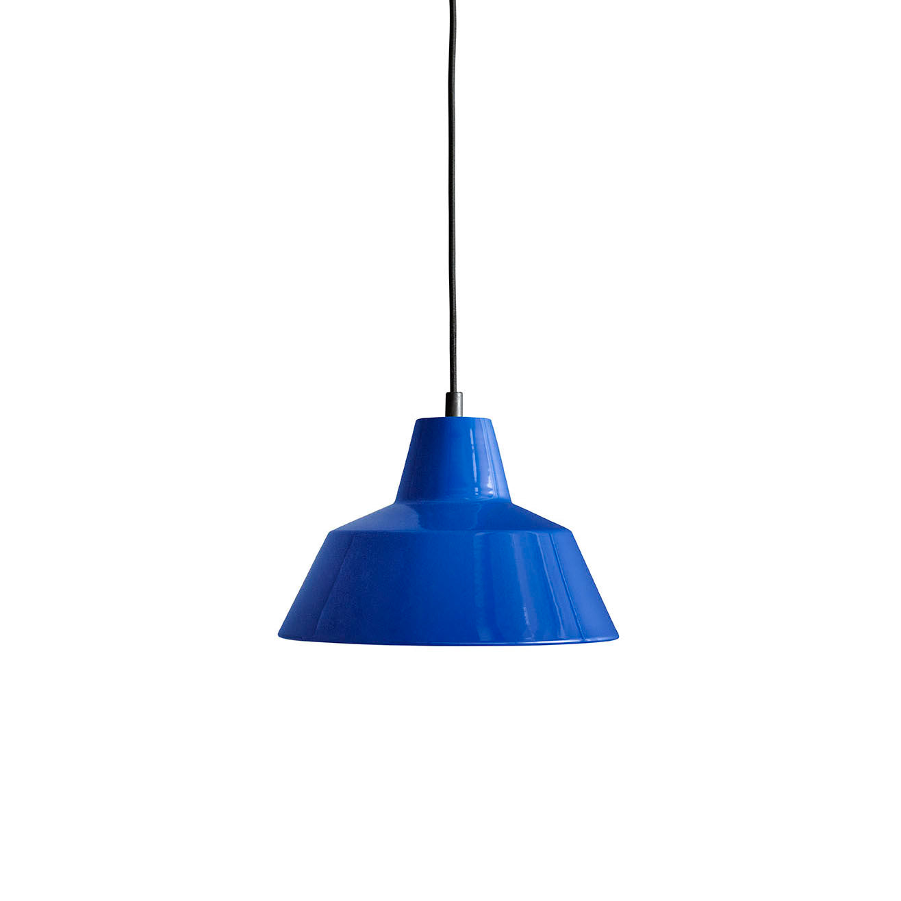 Workshop Pendant Lamp W2: Blue