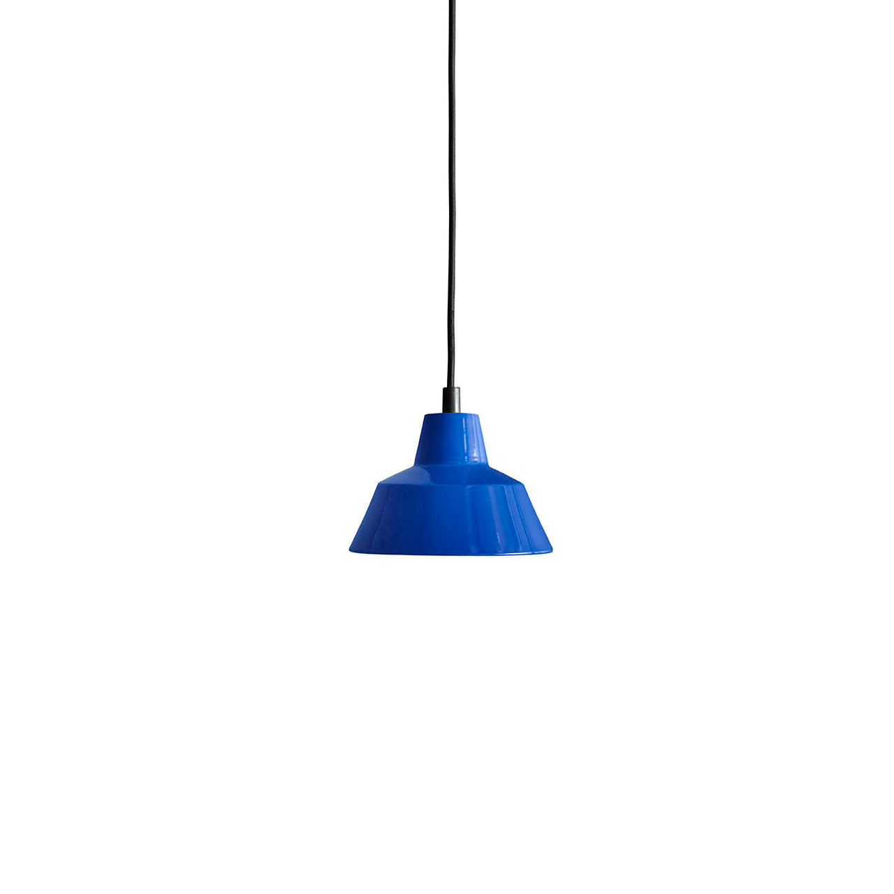 Workshop Pendant Lamp W1: Blue