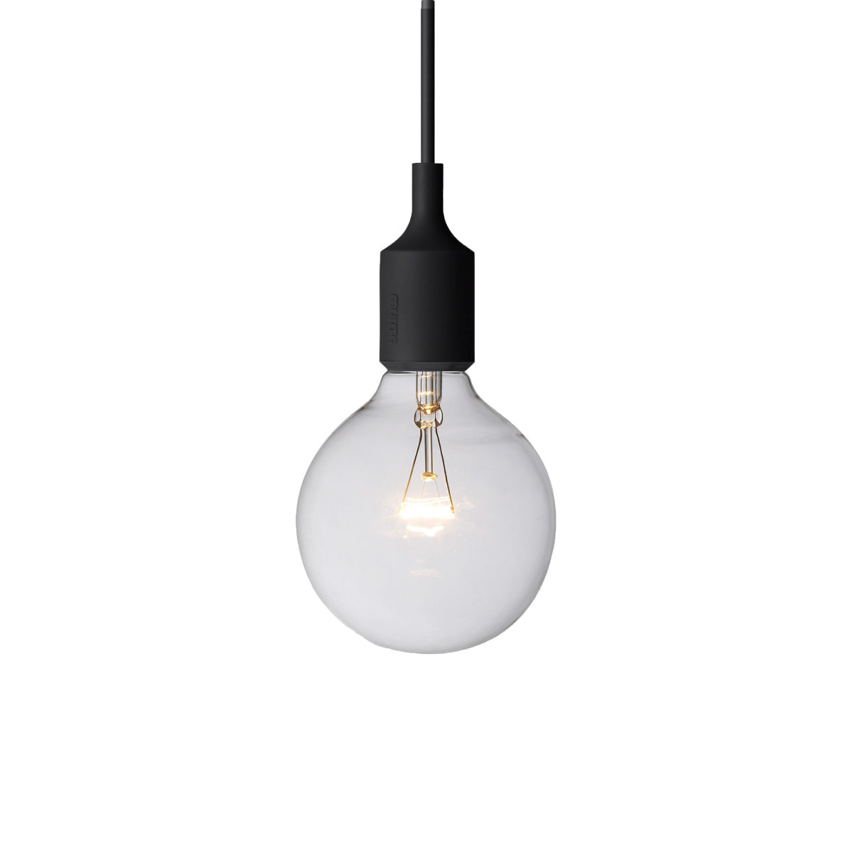 E27 Silicone Light: Black