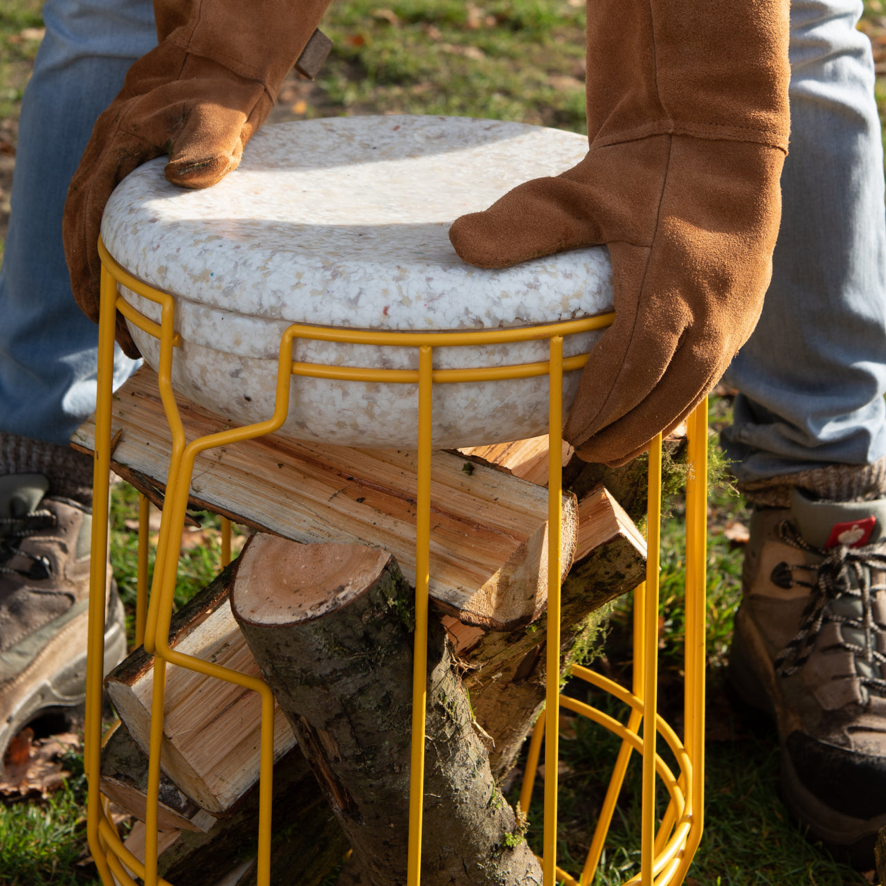 Carrier Storage Stool
