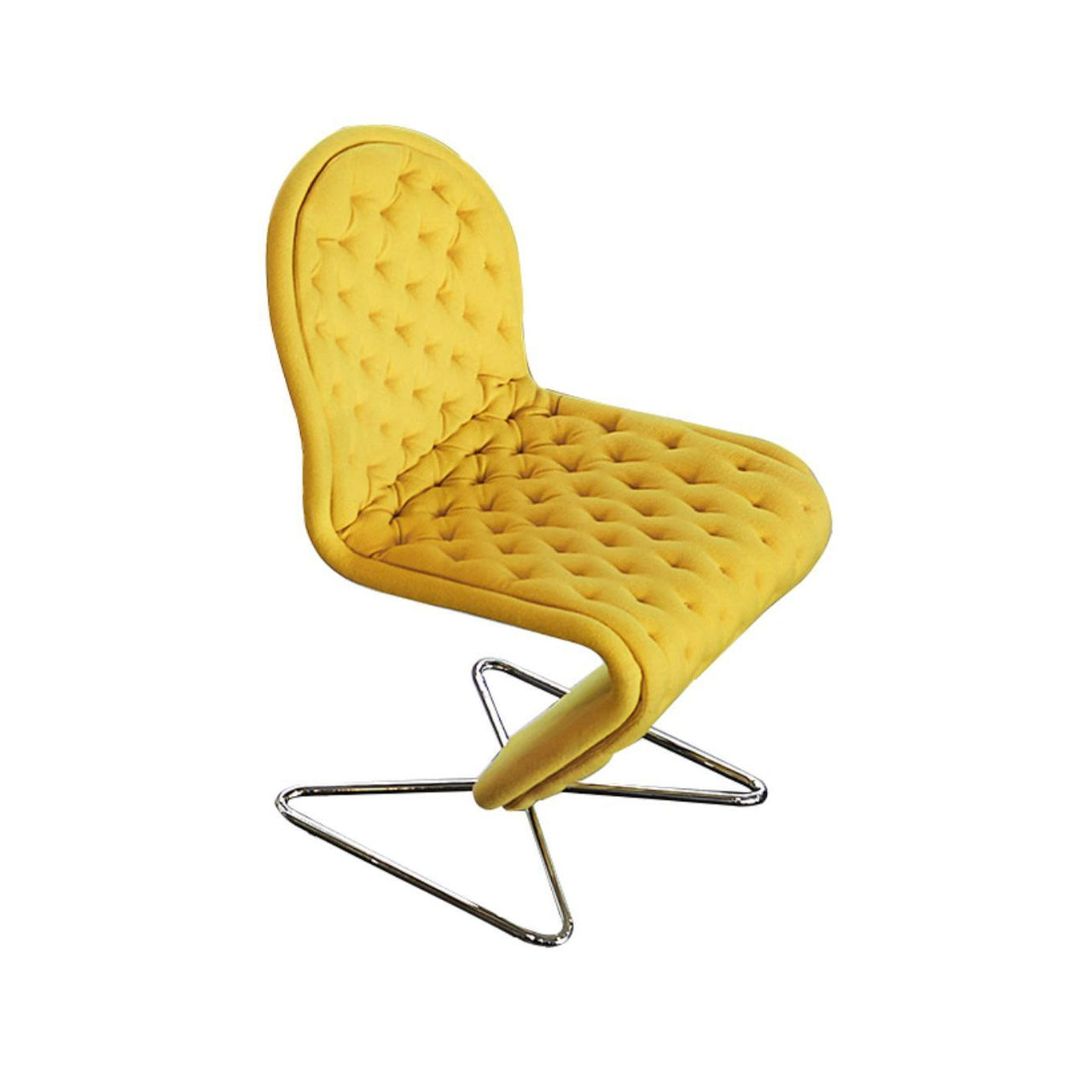 System 1-2-3 Dining Chair: Deluxe + Butterfly