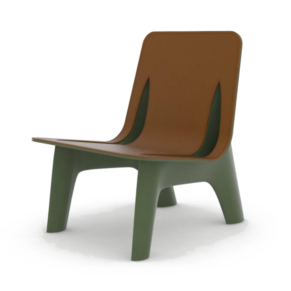 J-Chair: Leather Seat
