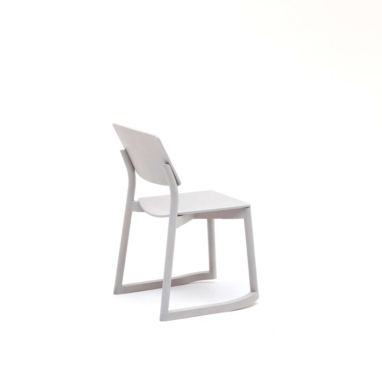 Panorama Chair With Runners: Grain Grey Oak