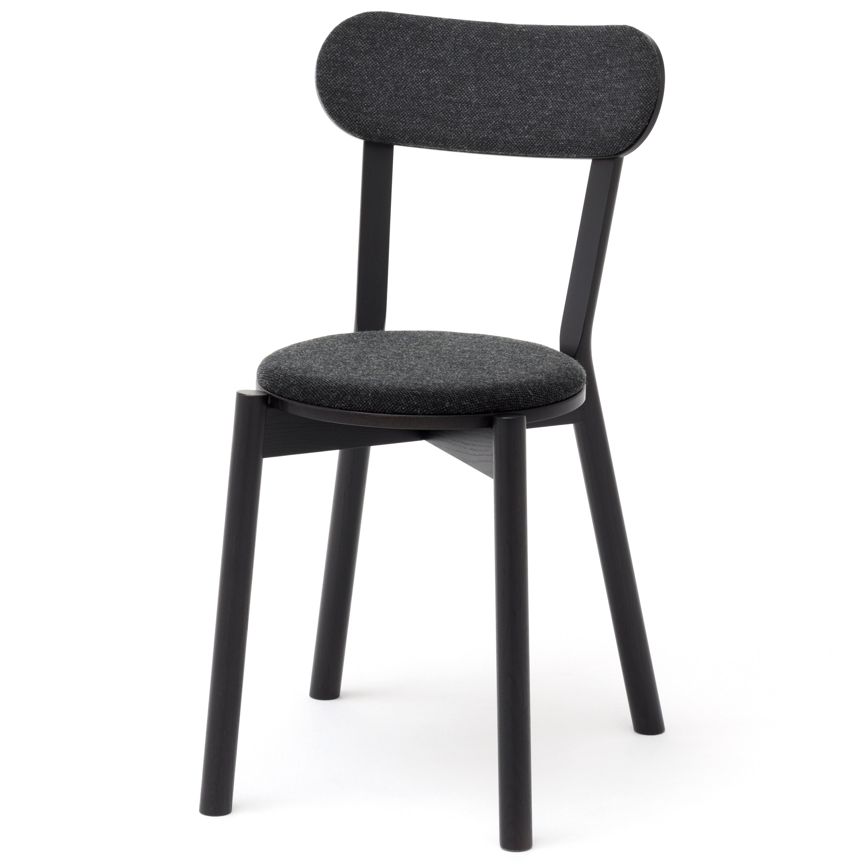 Castor Chair Pad: Black