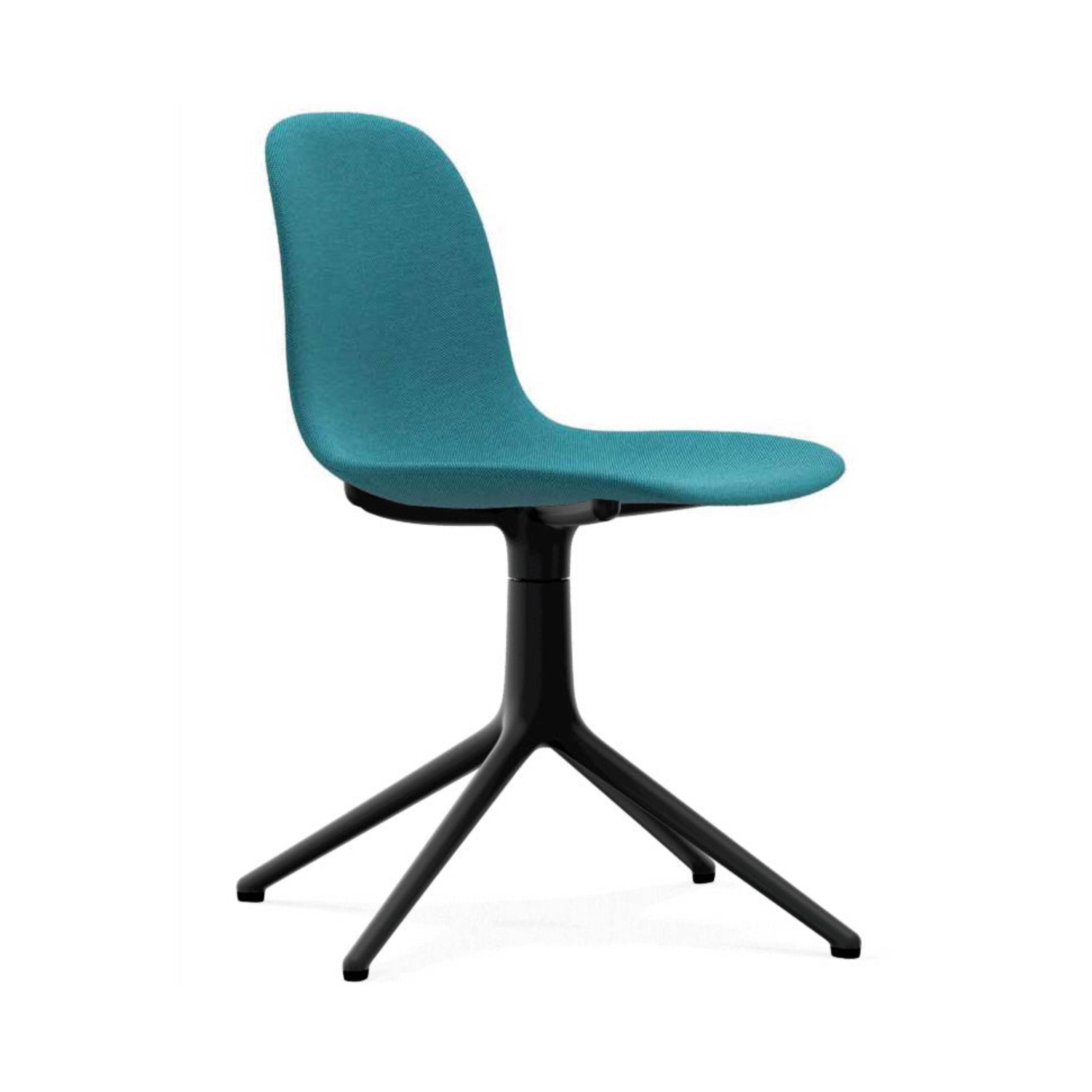 Form Chair: Swivel Upholstered