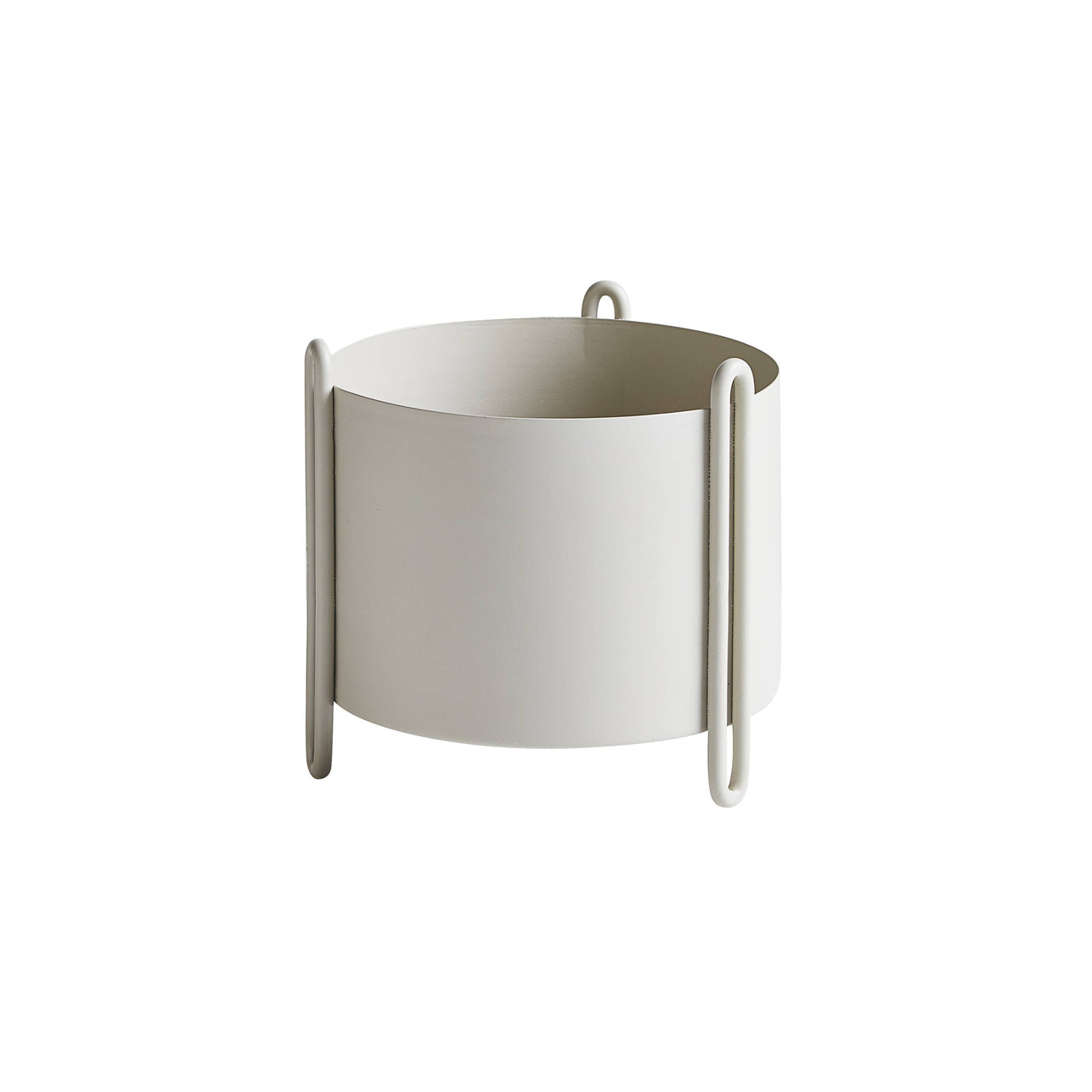 Pidestall Planter: Small + Grey