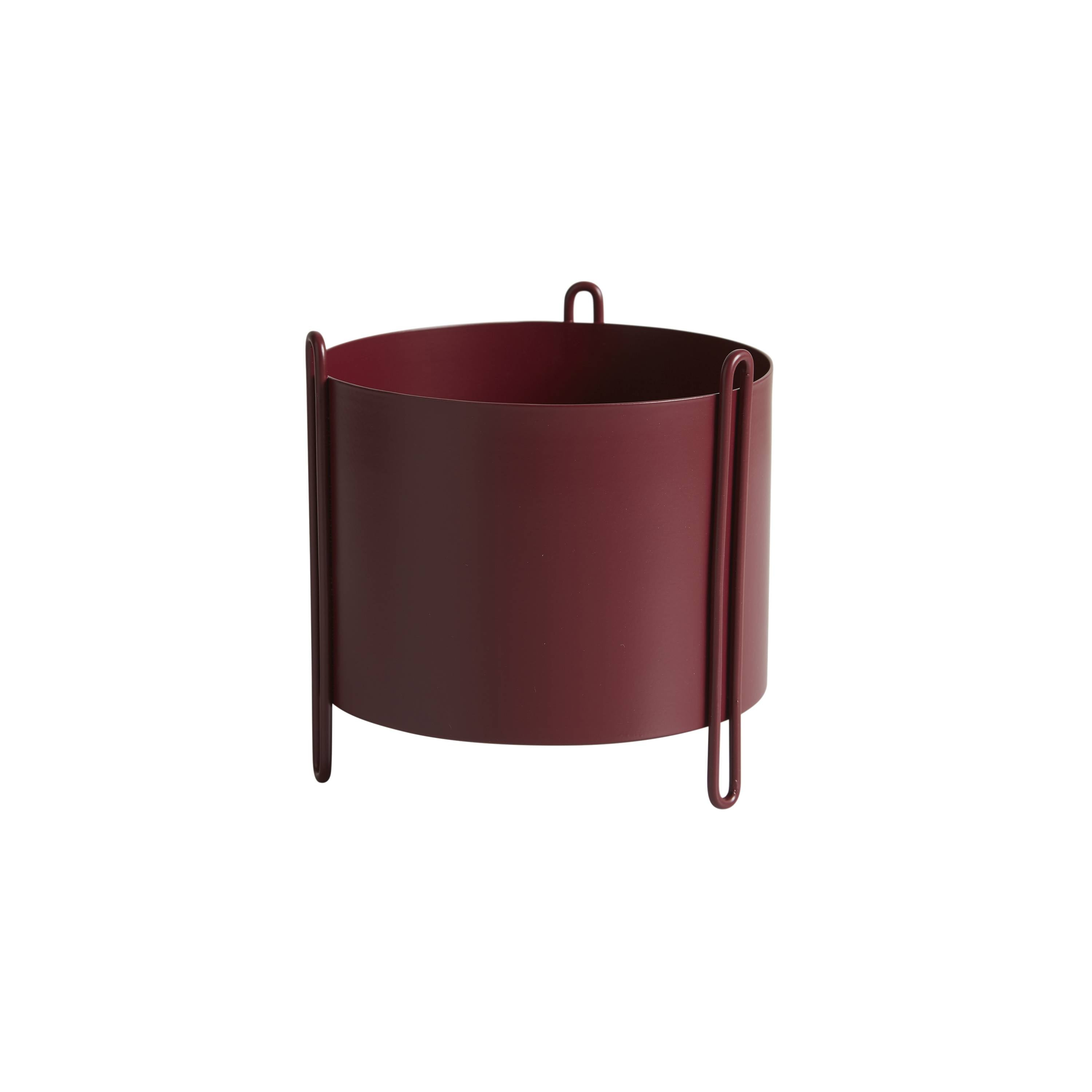 Pidestall Planter: Small + Red
