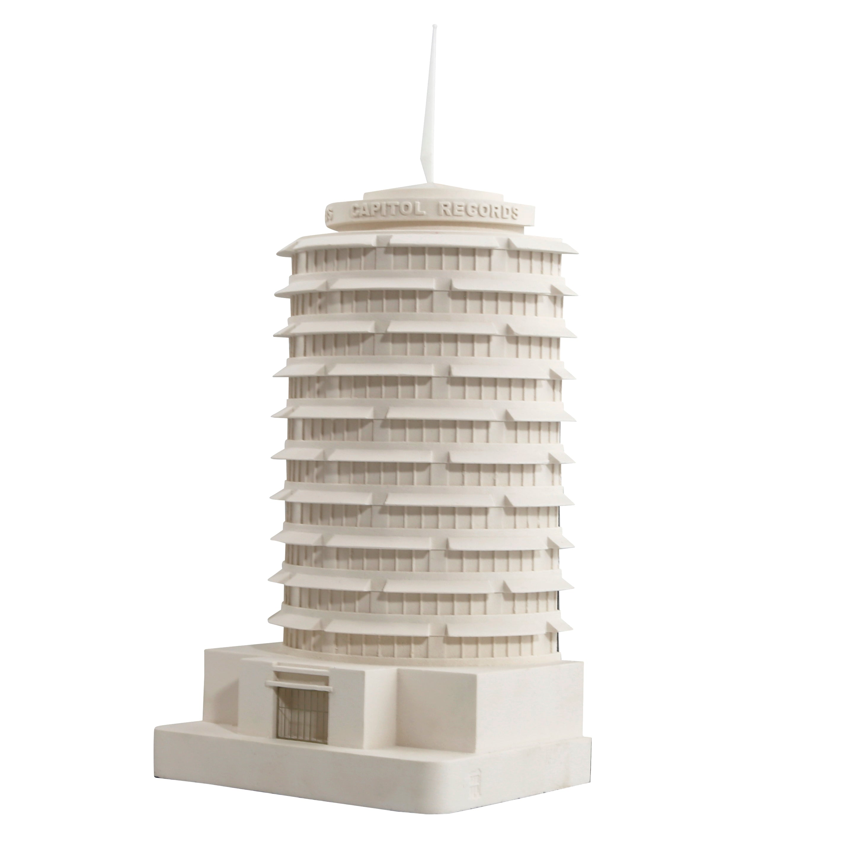 Capitol Records Architectural Model