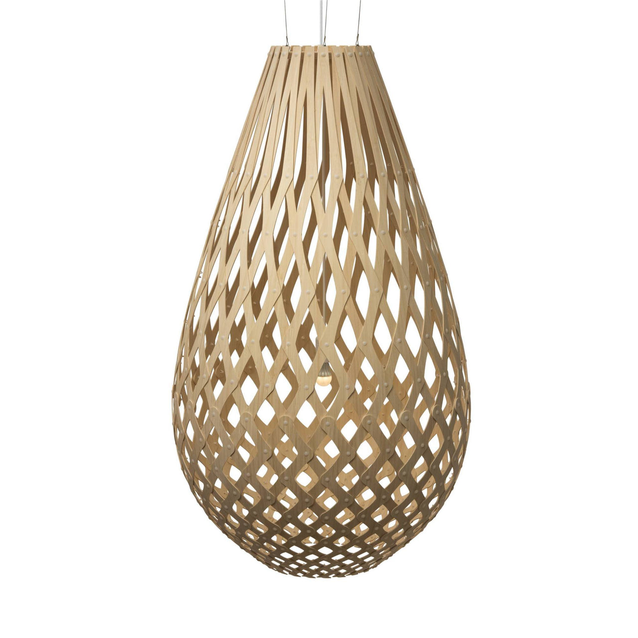 Koura Pendant Light: 1600 + Natural