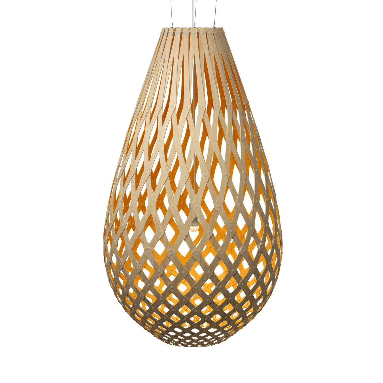 Koura Pendant Light: 1600 + Orange