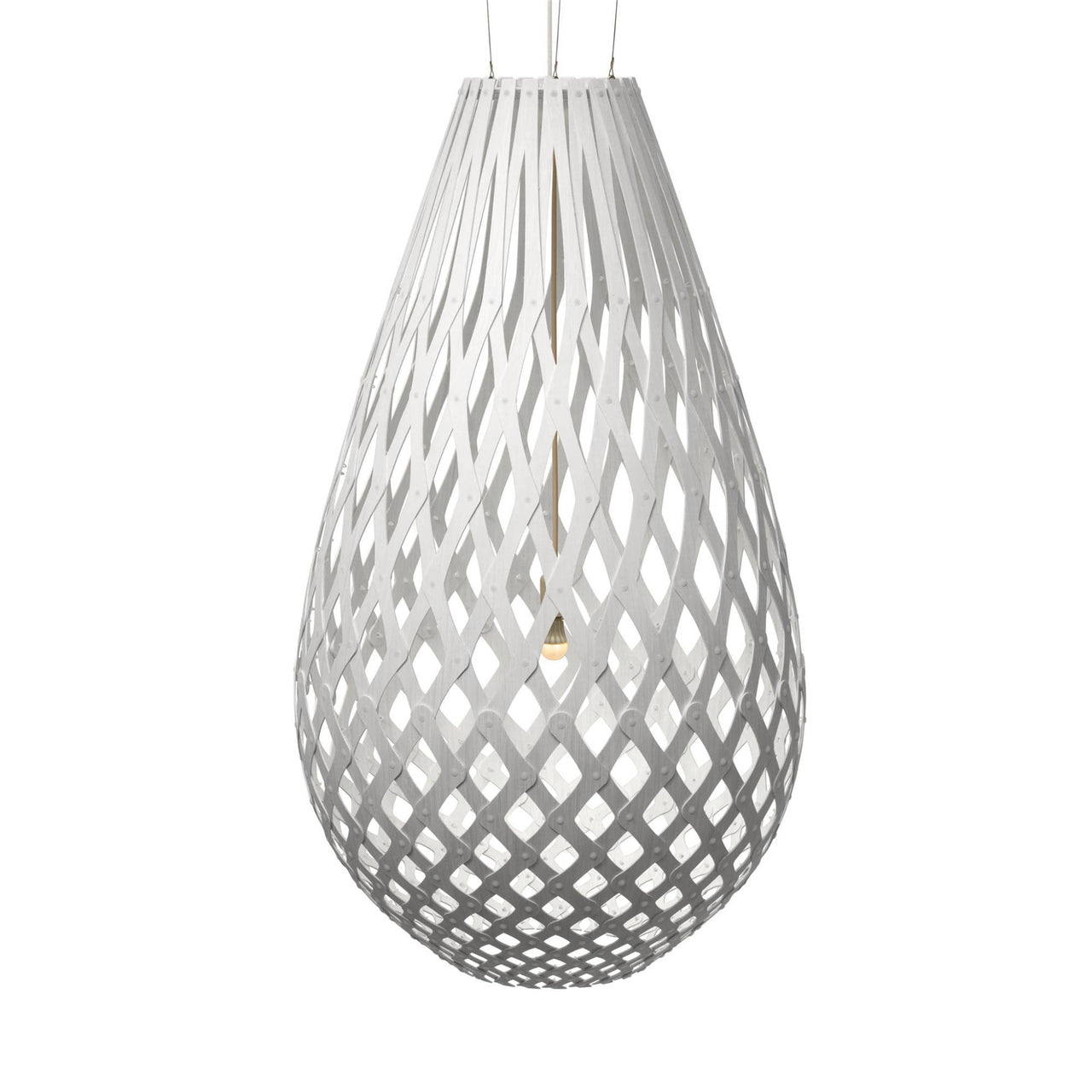 Koura Pendant Light: 1600 + White Two Sides