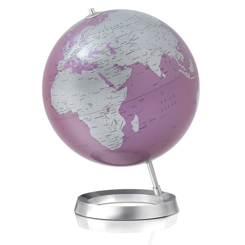 Full Circle Vision Globe: Planet Earth: Amethyst