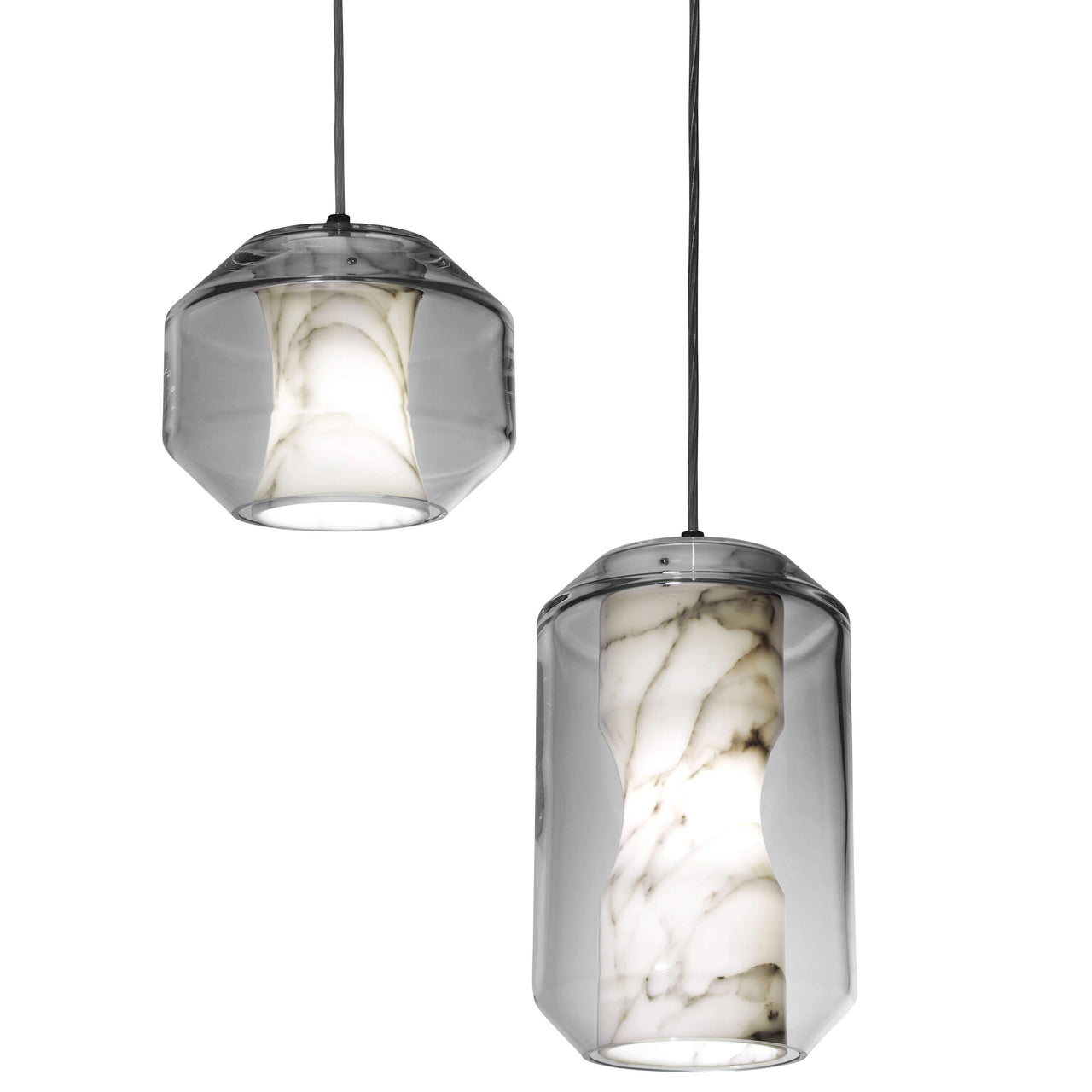 Chamber Pendant Light: Small + Large