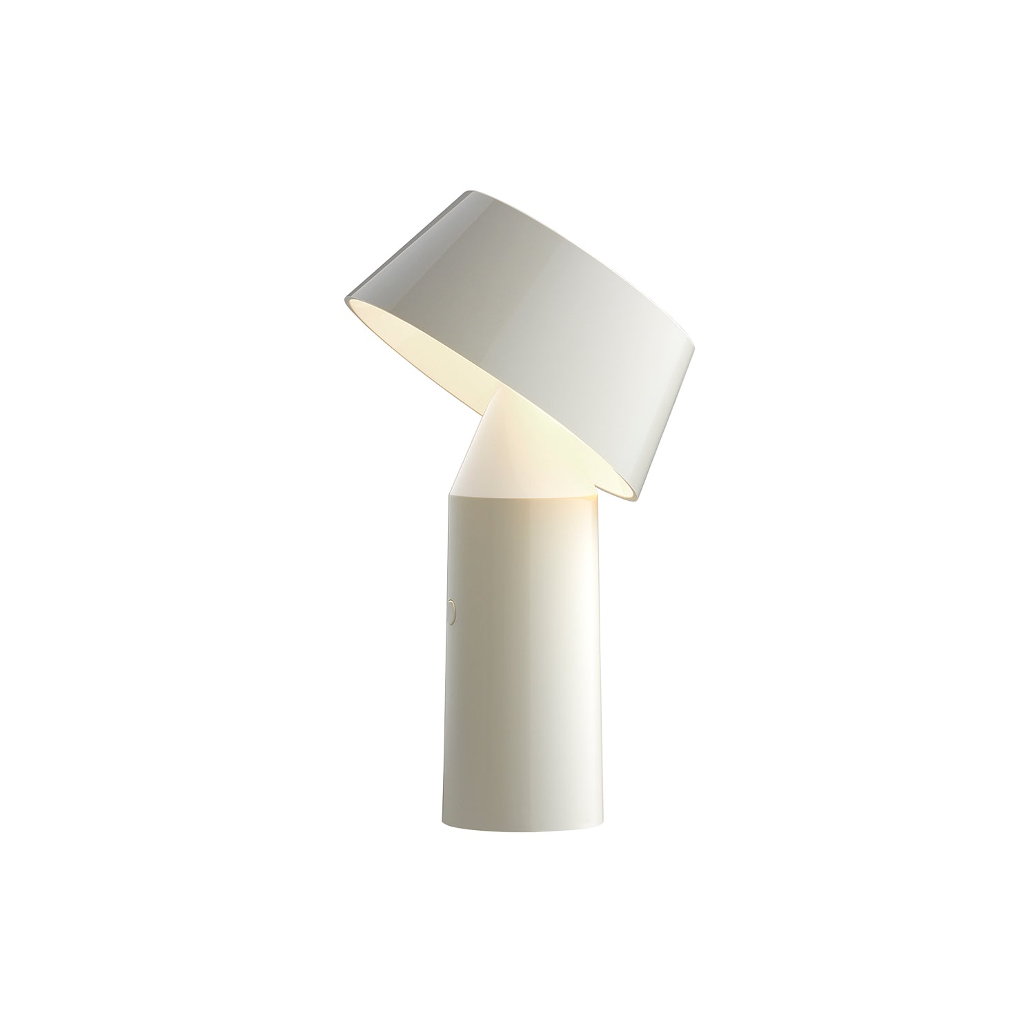 Bicoca Table Lamp: Off-White