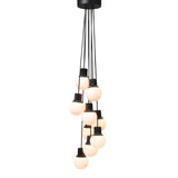 Mass Light Chandelier NA6: Nero Marquina Marble