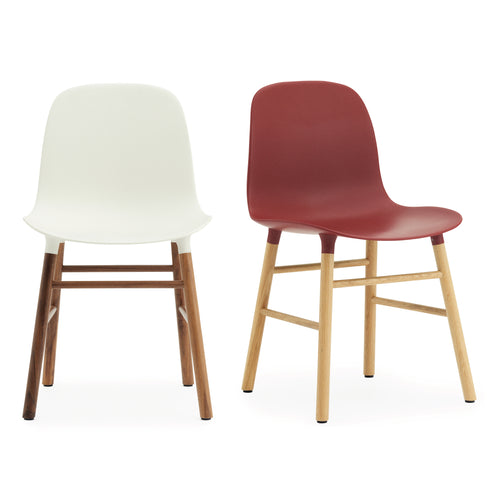 Form Chair: Walnut or Oak Legs