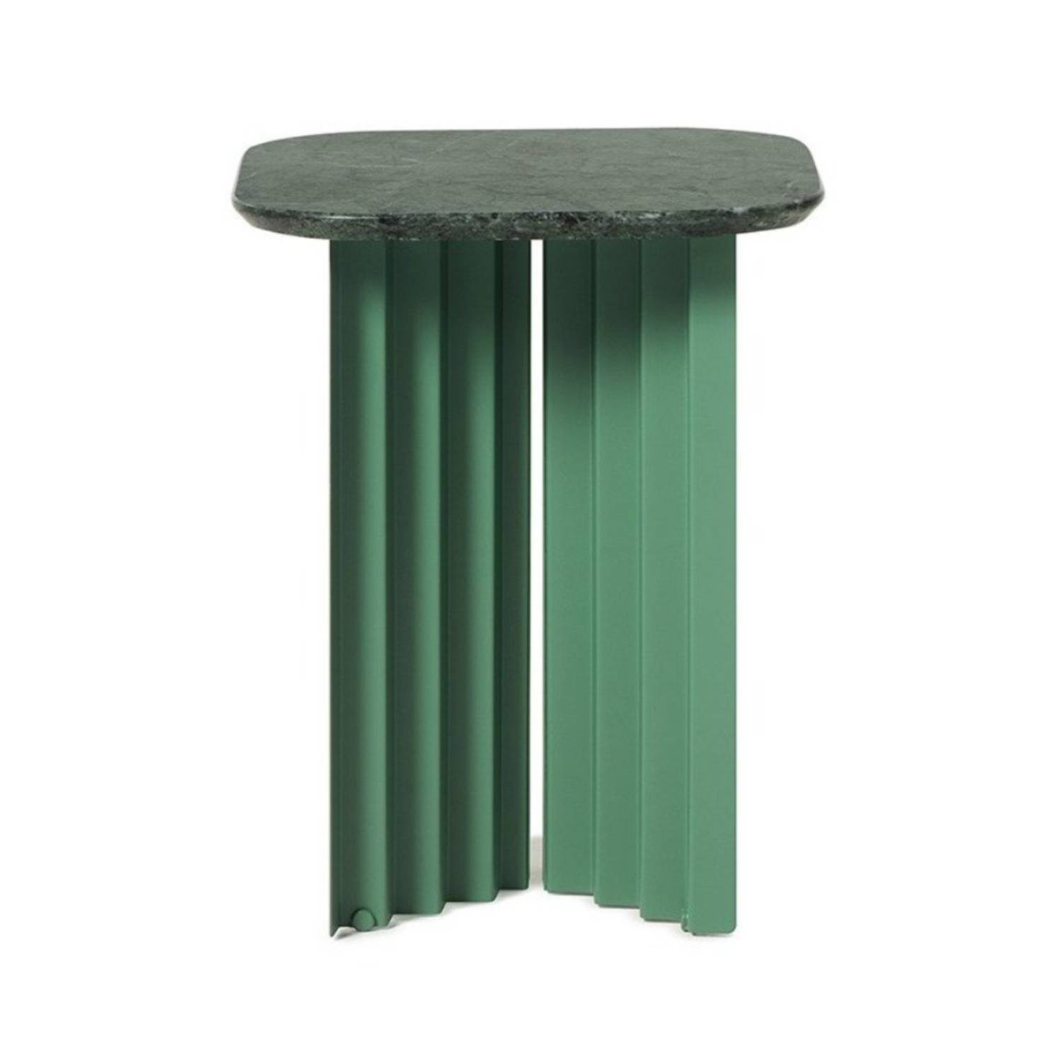 Plec Table: Marble Top: Small + Green Aver