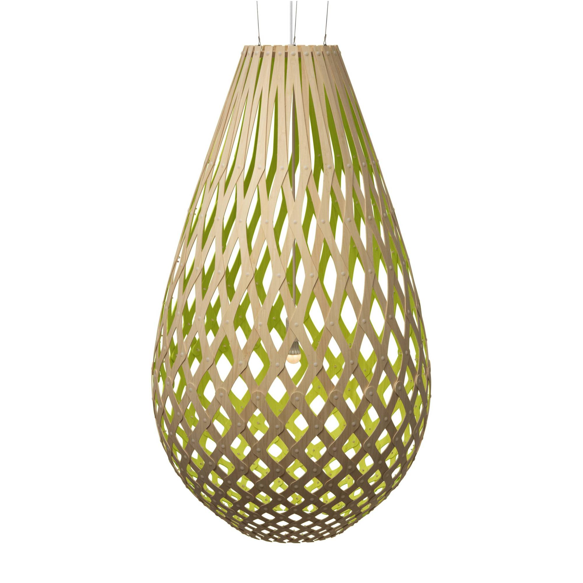 Koura Pendant Light: 2000 + Lime