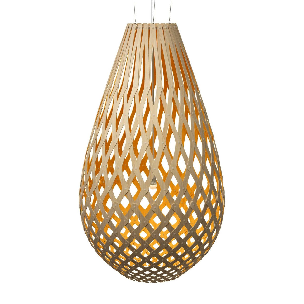 Koura Pendant Light: 2000 + Orange