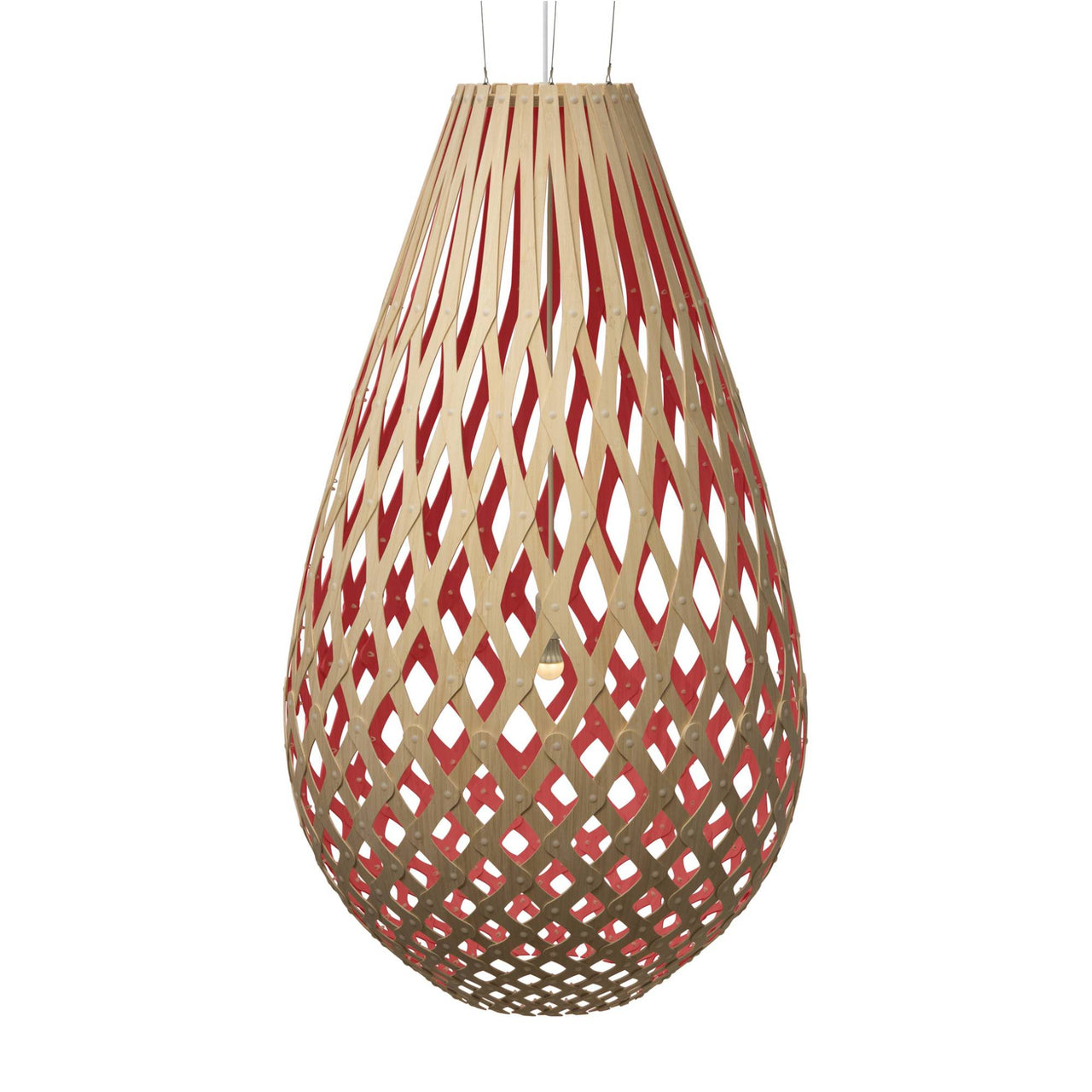 Koura Pendant Light: 2000 + Red