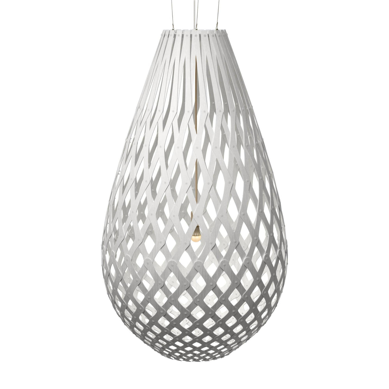 Koura Pendant Light: 2000 + White Two Sides