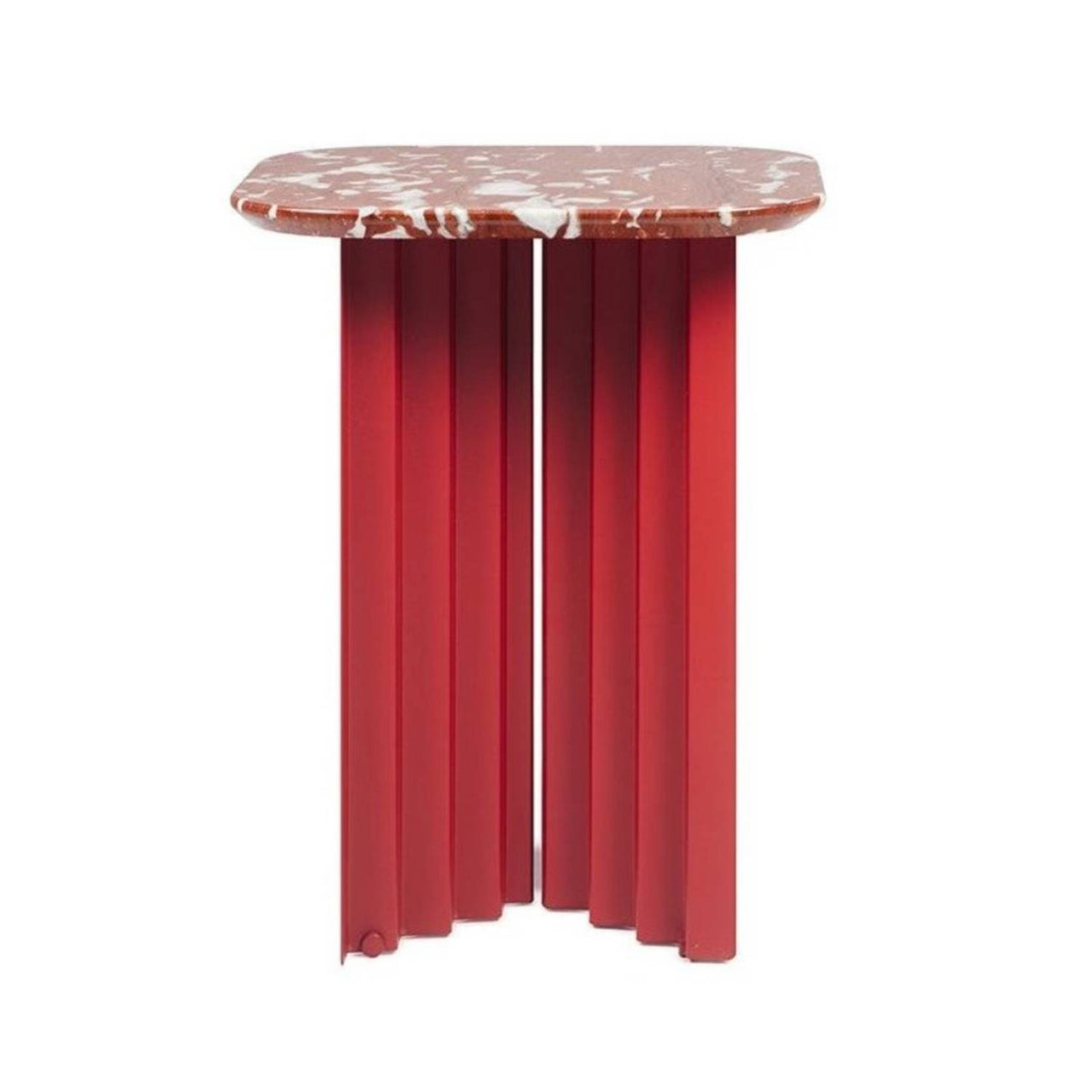 Plec Table: Marble Top: Small + Red Francia