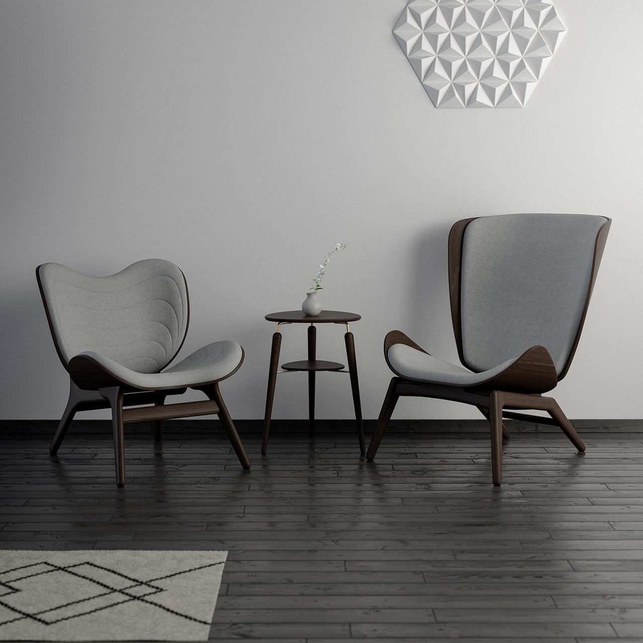 A Conversation Piece Armchair
