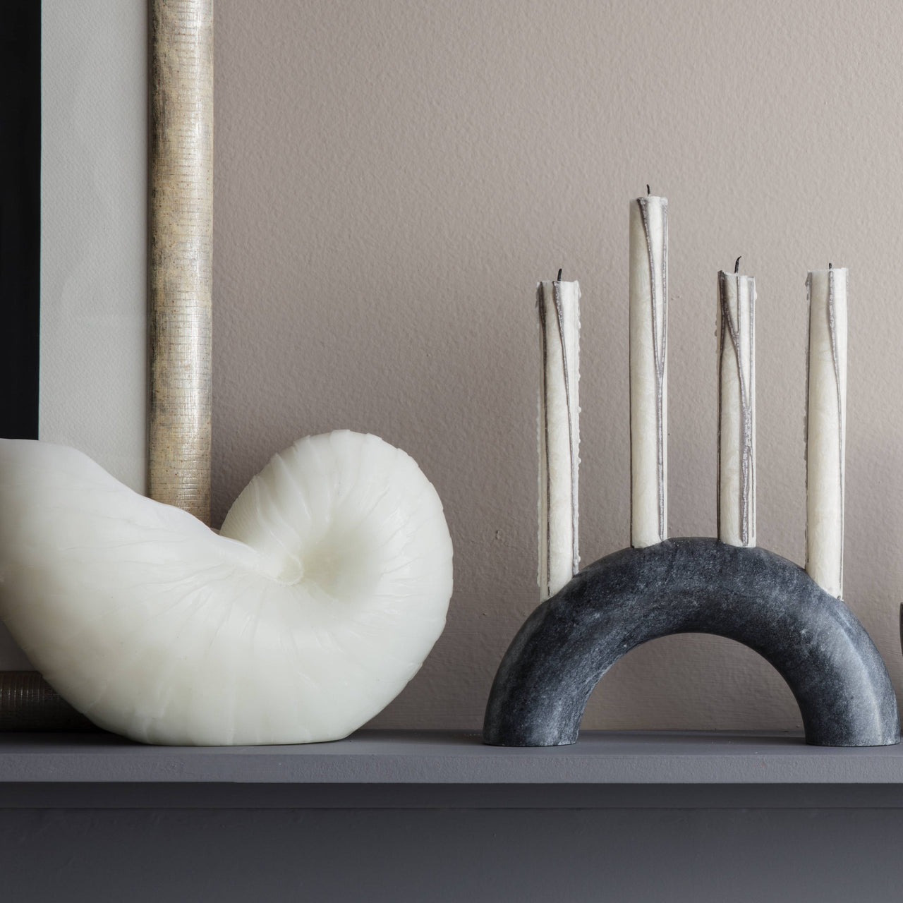 Bow Candle Holder