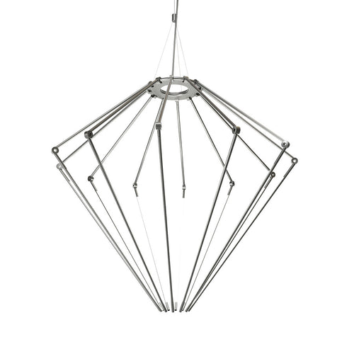 Thin Chandelier: Large + Black Oxide