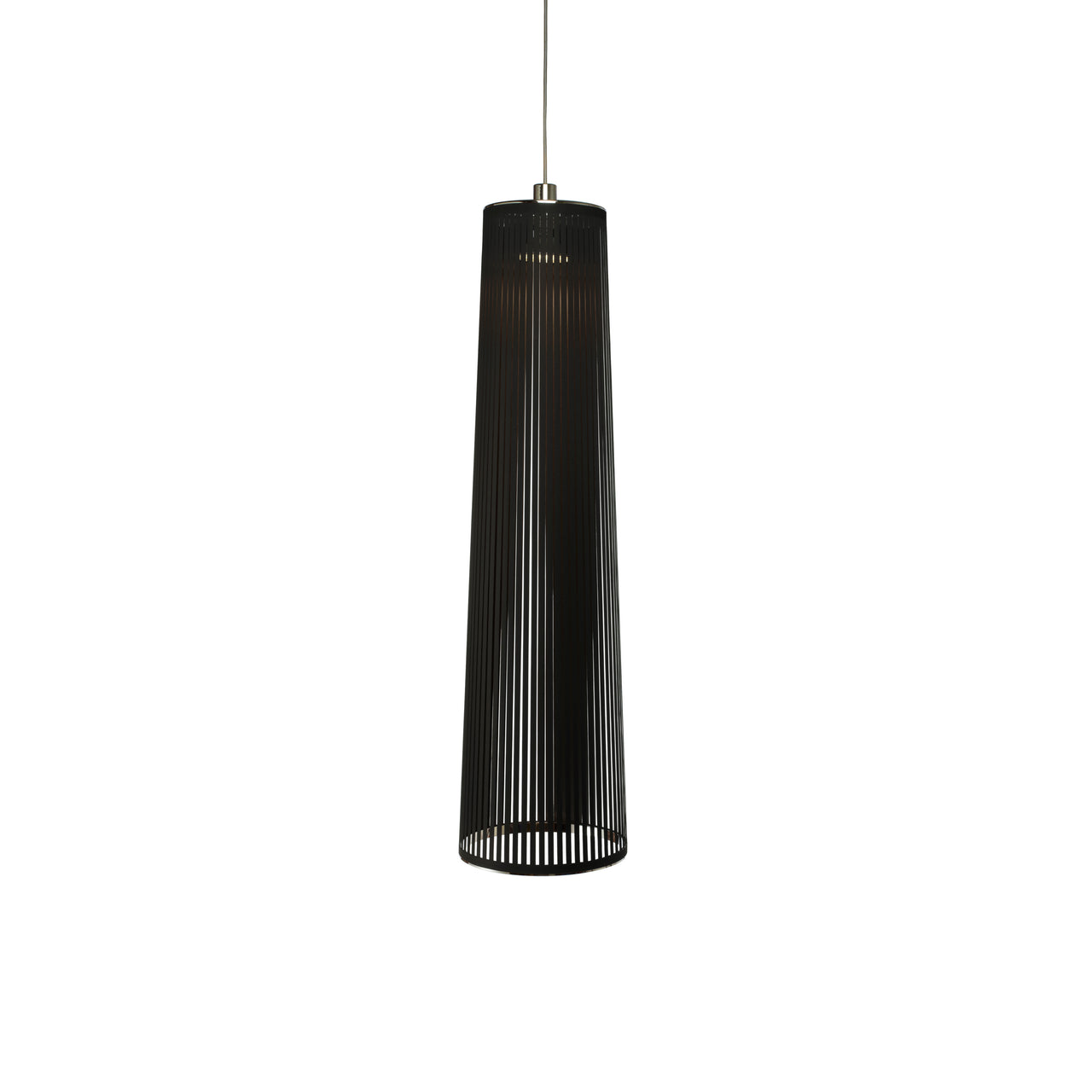 Solis Pendant Light: Medium + Black
