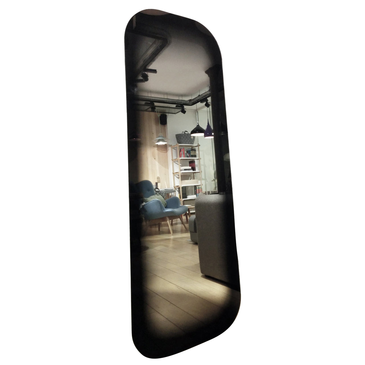 Fading Mirror: Rectangle + Black