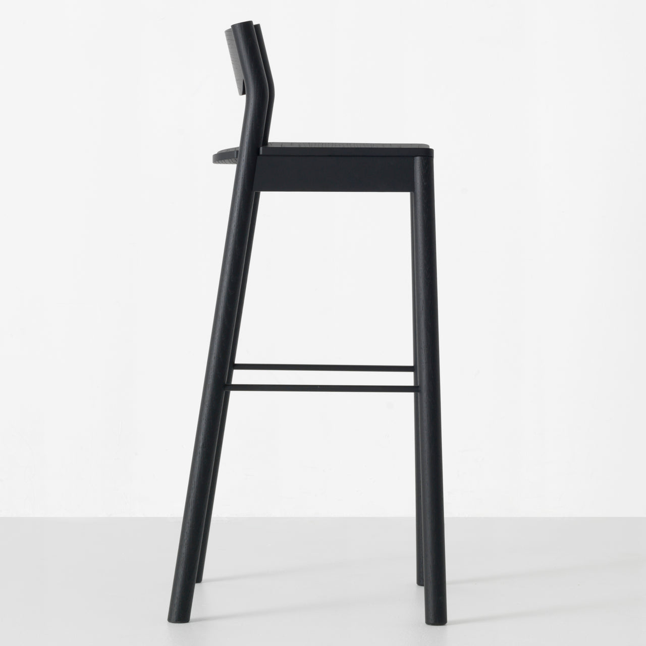 Tangerine Bar Stool + Back