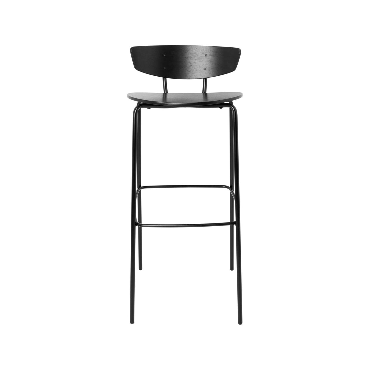 Herman Bar Chair: Black + High