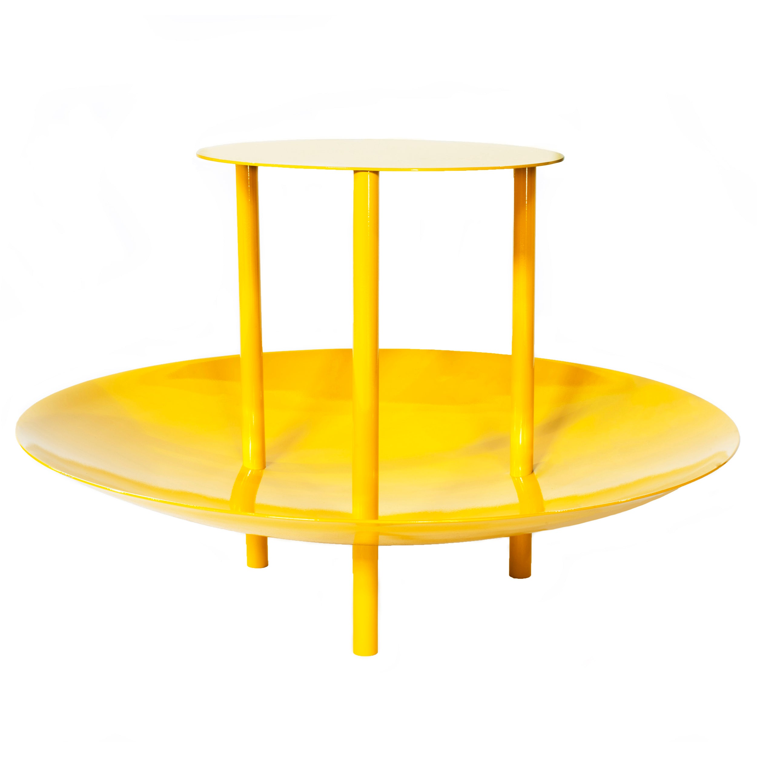 Magazine Table: Signal Yellow