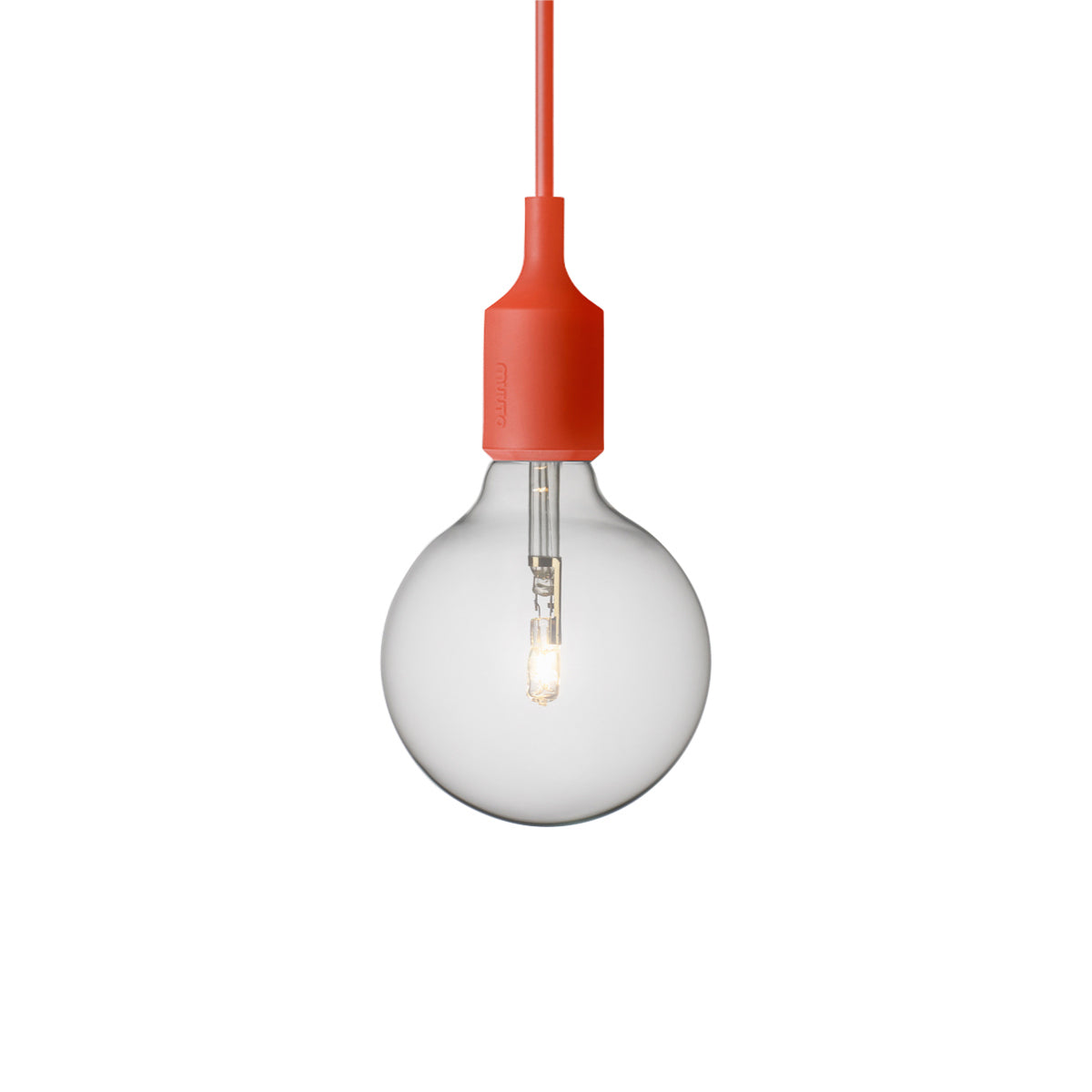 E27 Silicone Light: Red
