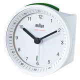 Analog Alarm Clock BNC007: White