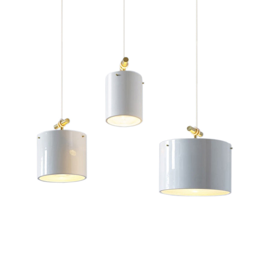 Fresnel Pendant Light: Small + Medium + Large