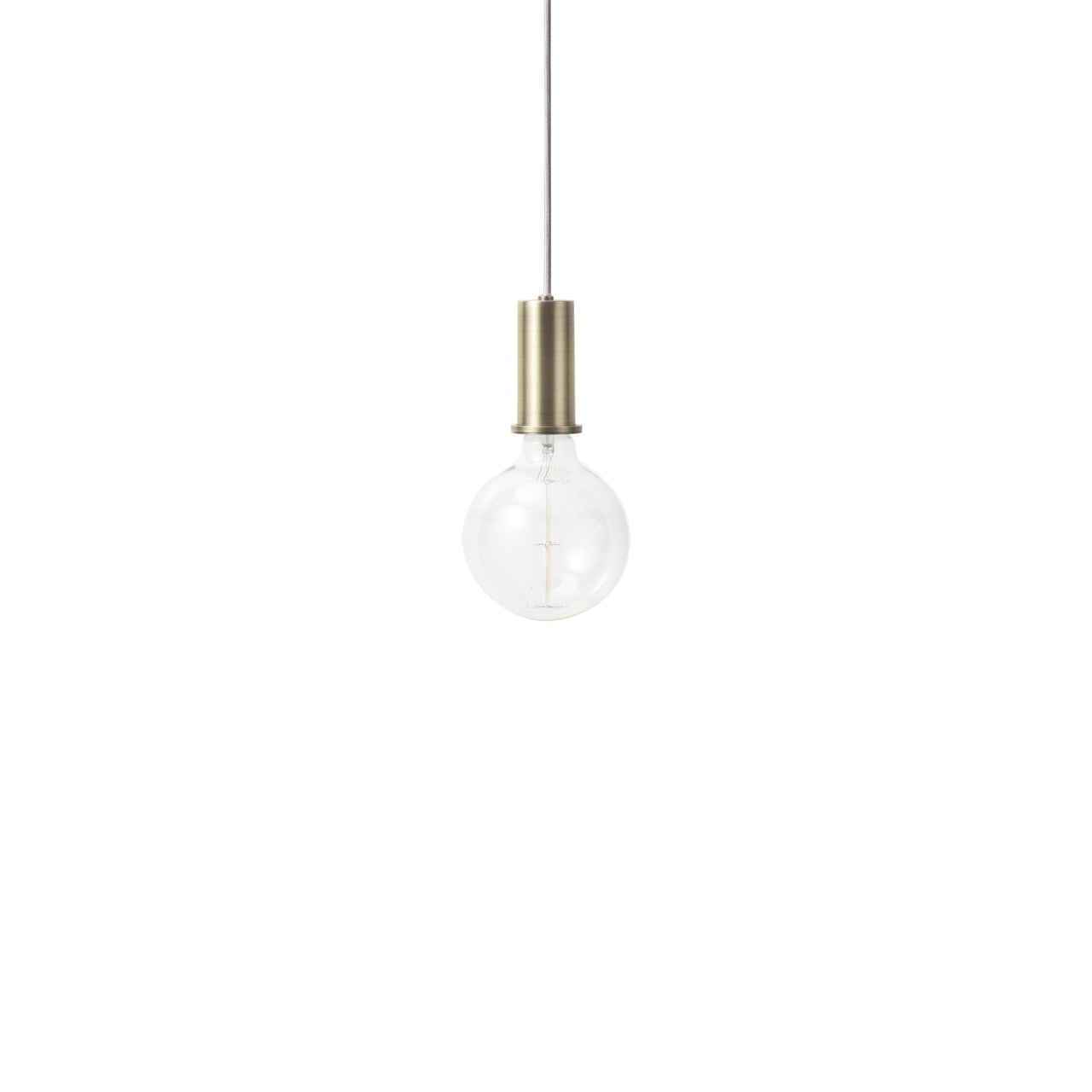 Collect Lighting: Pendant + Low + Brass