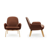 Era Lounge Chair: Low + Oak or Walnut Base