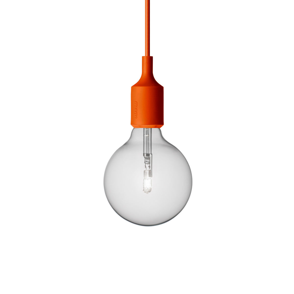 E27 Silicone Light: Orange