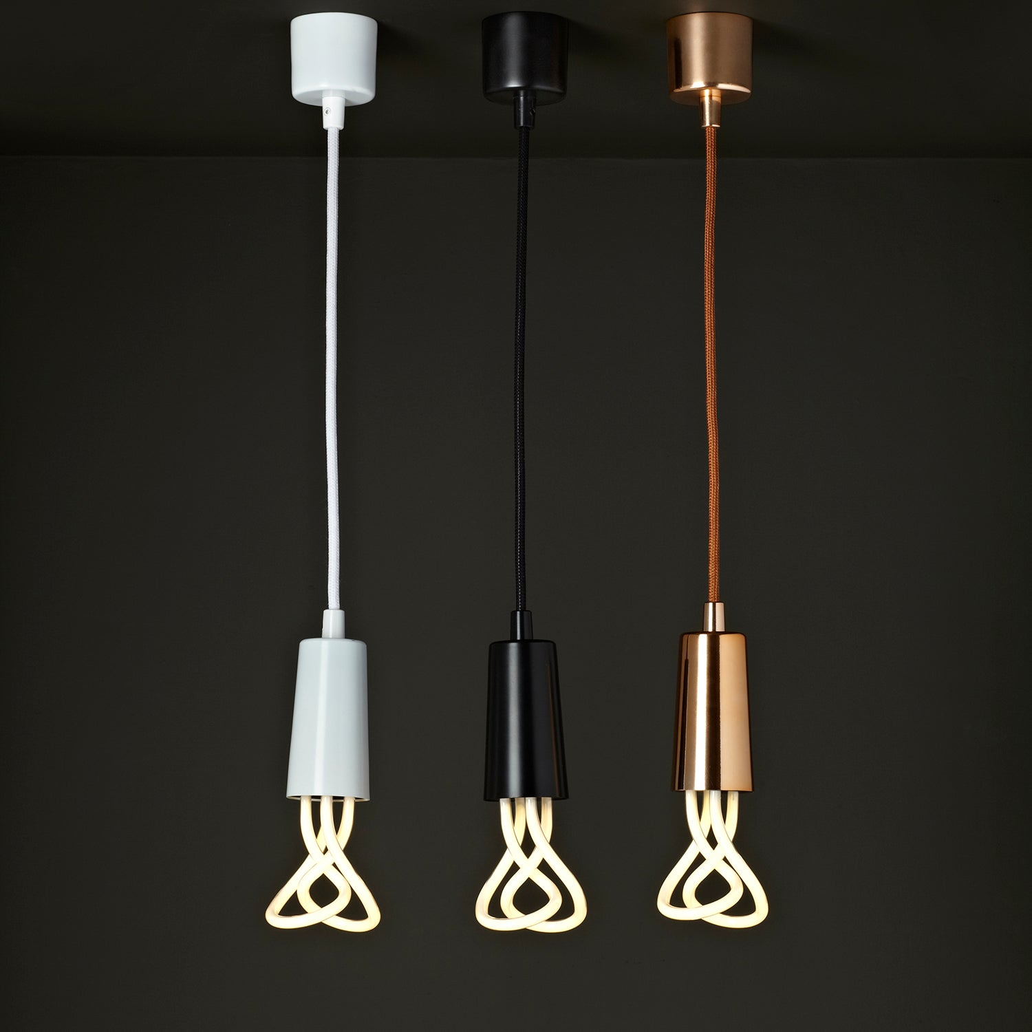 OUTLET - Drop Cap Pendant Set