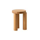 Offset Stool + Side Table