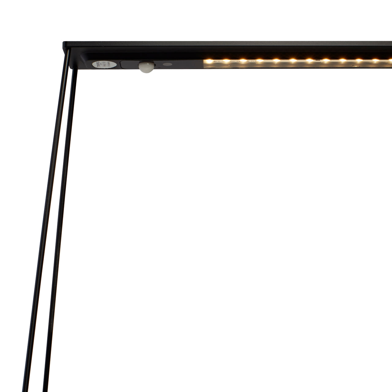 Fine500 Table Lamp: Black