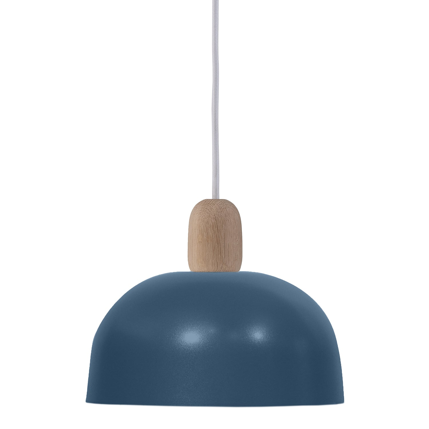 Nina Pendant Lamp: Grey Blue