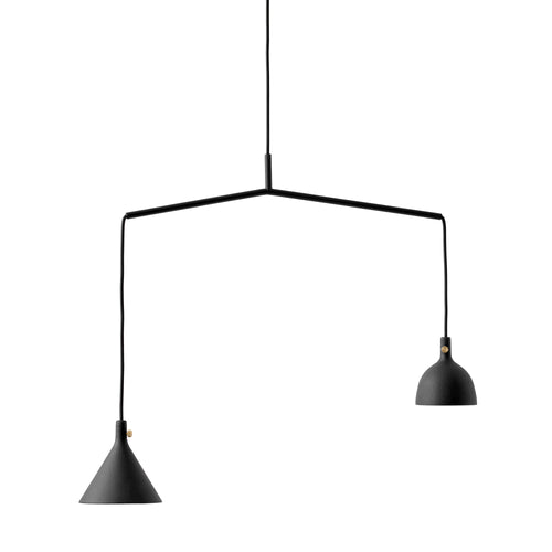 Cast Pendant Light: Shape 4