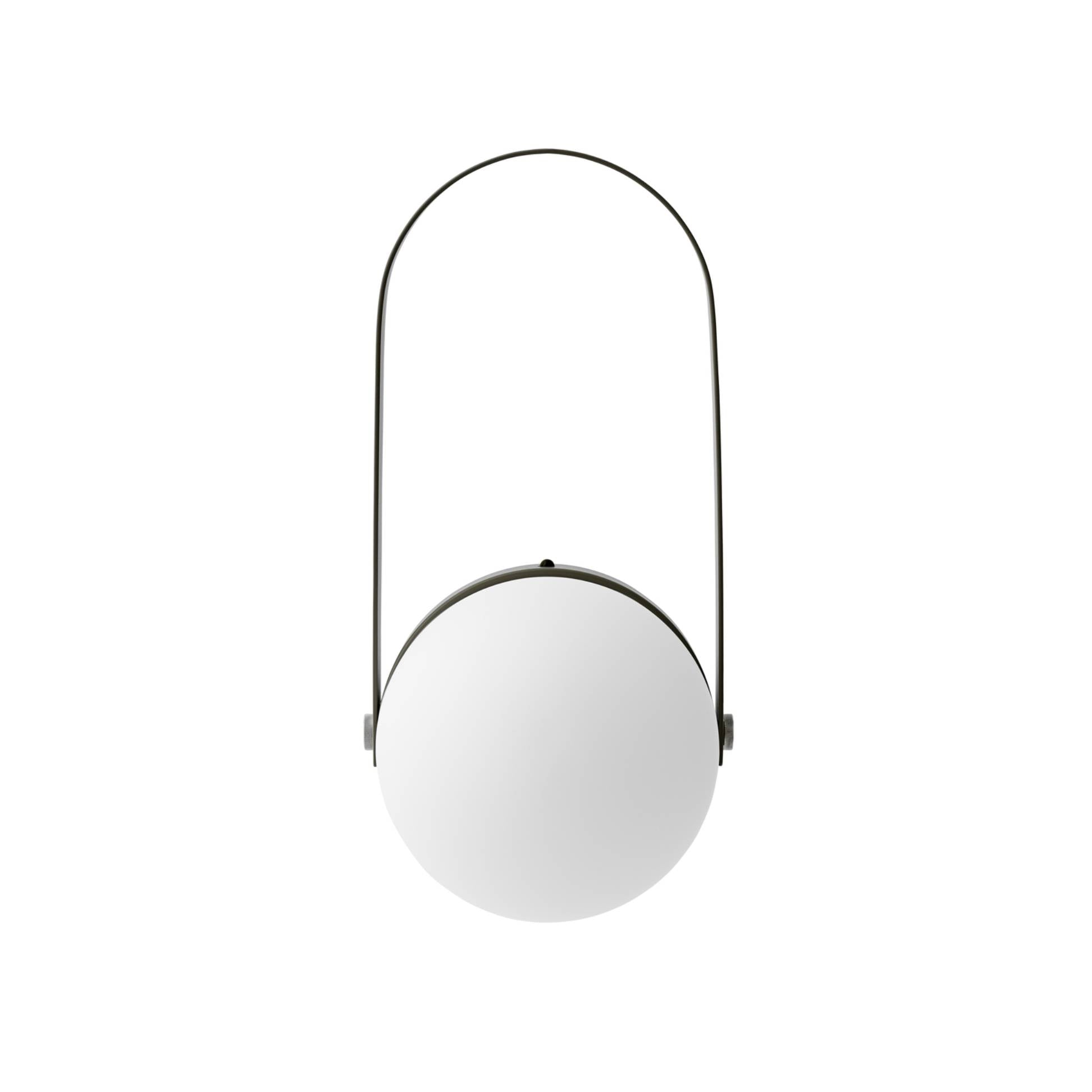Carrie LED Lamp: Olive