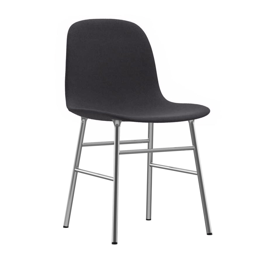 Form Chair: Chrome Upholstered