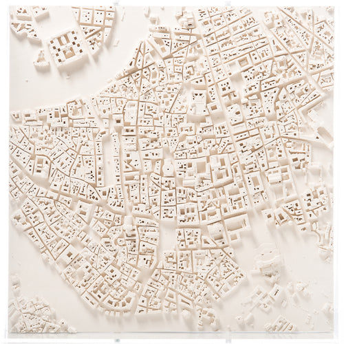 Rome Cityscape Architectural Model