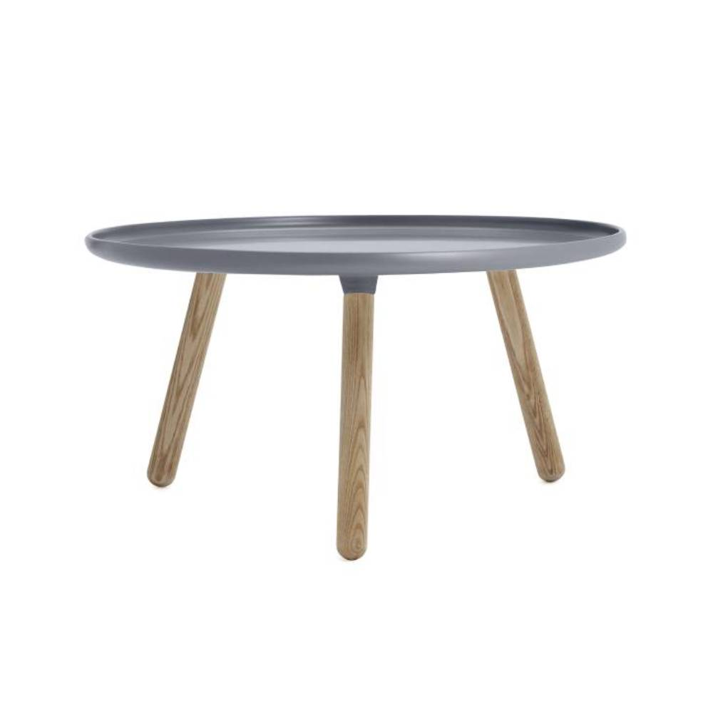 Tablo Table: Large: Grey + Natural